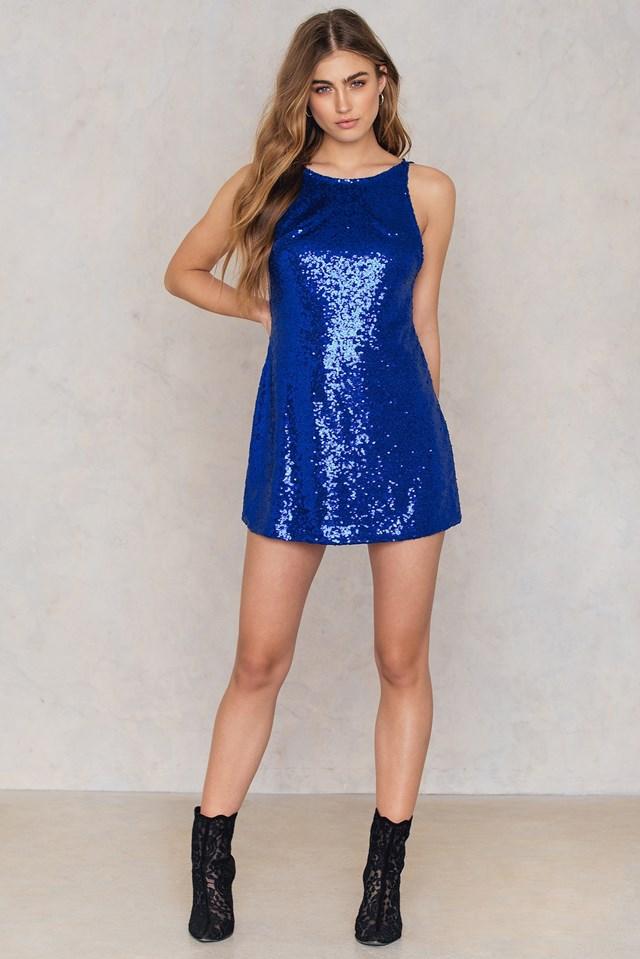 Gigi Dress Cobalt
