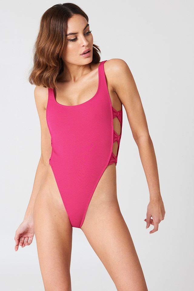 Haolo Swimsuit Fuchsia