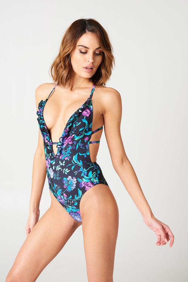 Jelita Swimsuit Violet Dreams