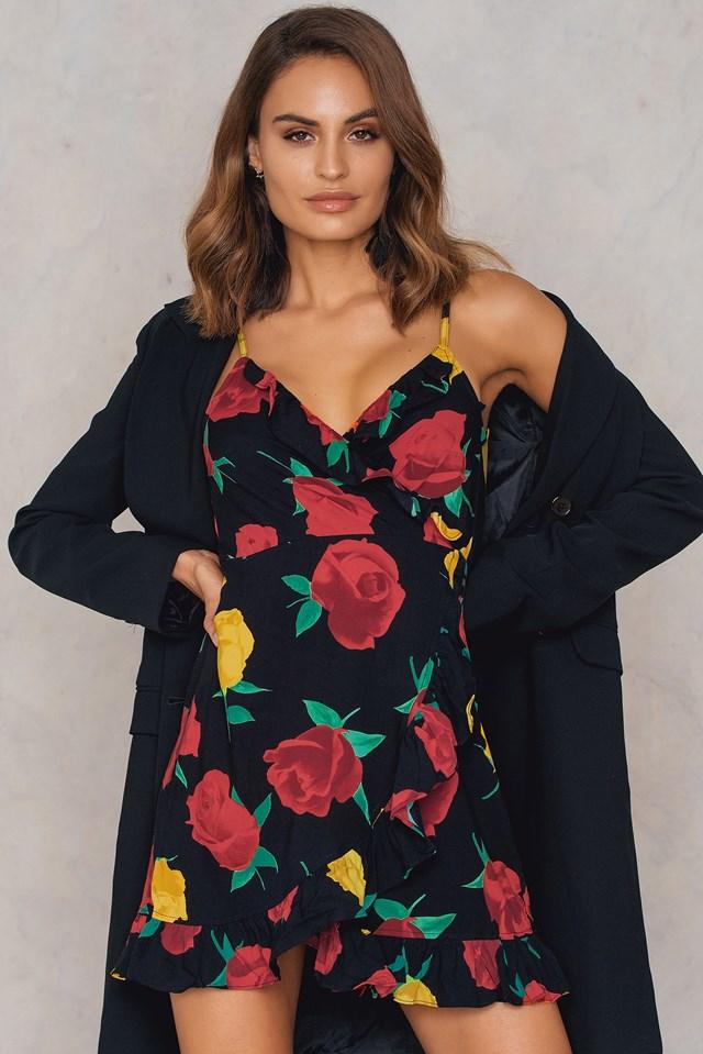 Lasky Dress Rose Romance