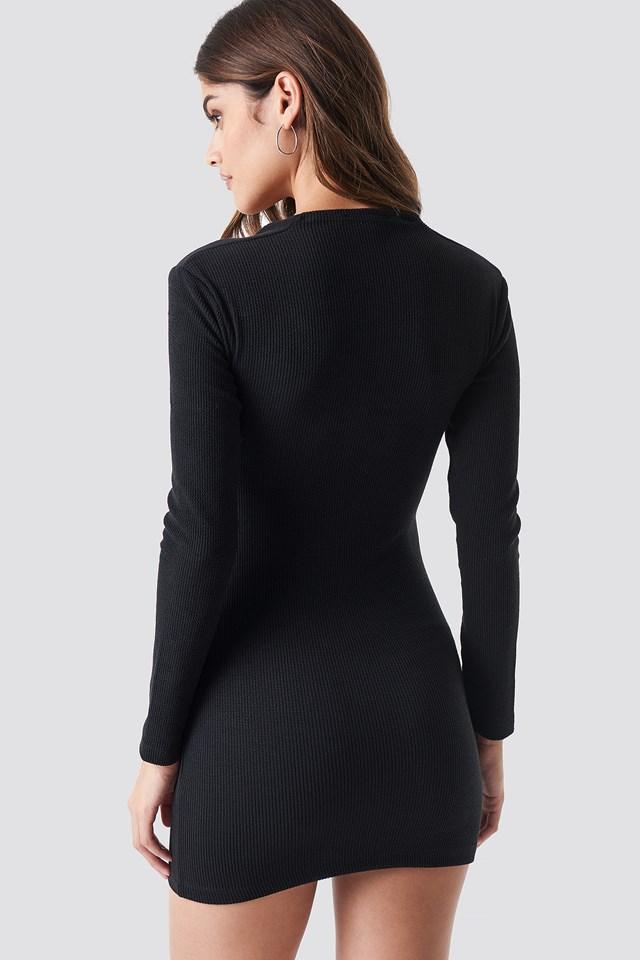Leah Mini Dress Black