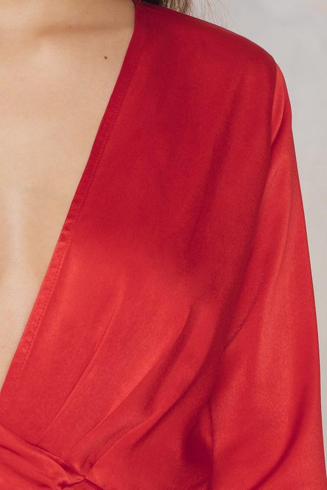 Malena Dress Red