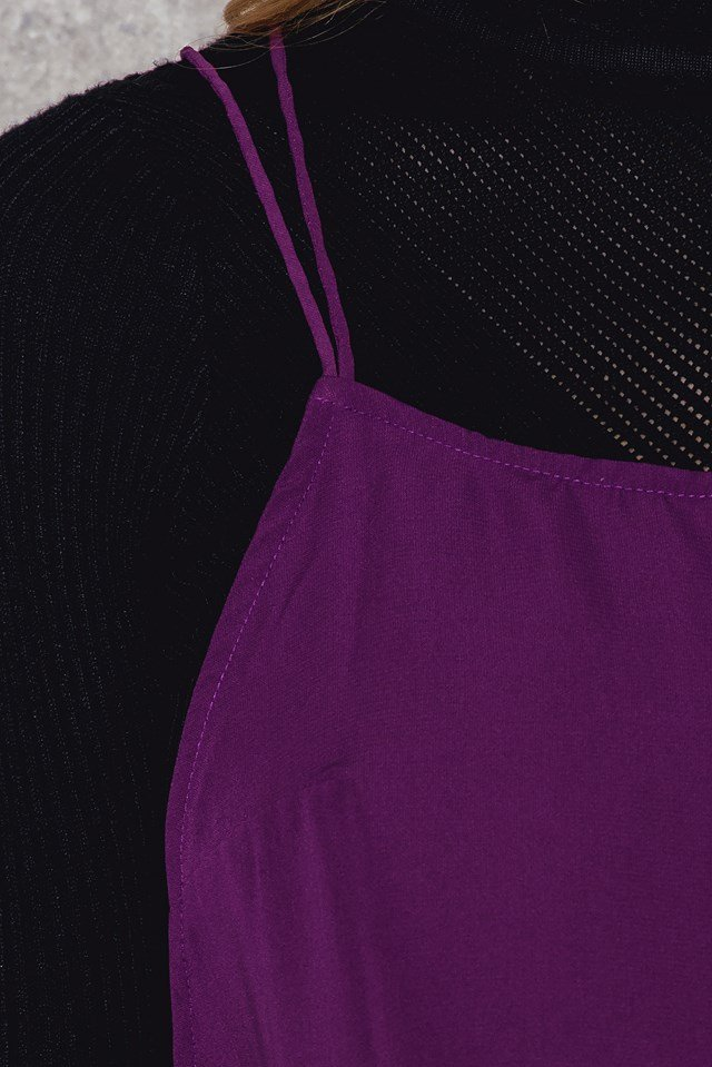 Royce Slip Dress Purple
