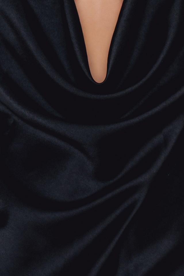 Sabia Slip Dress Black