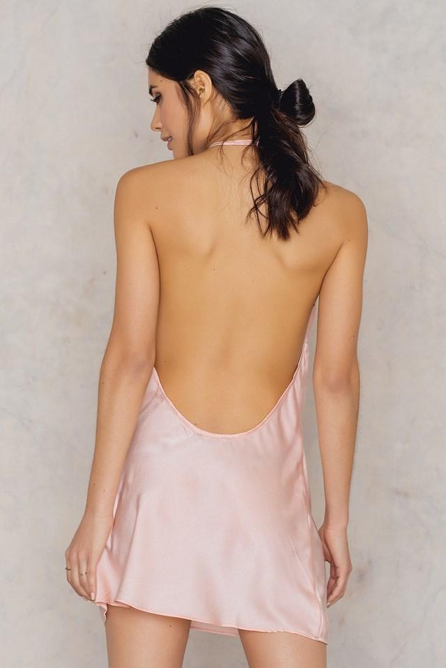 Sabia Slip Dress Peach