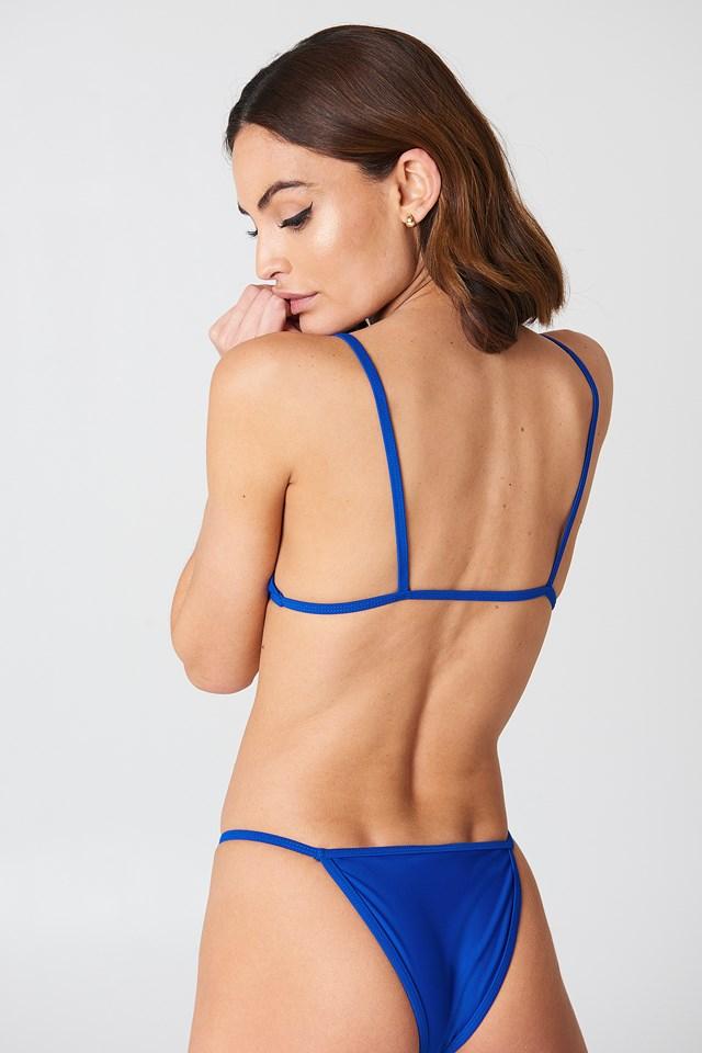 Valter Bikini Top Royal Blue