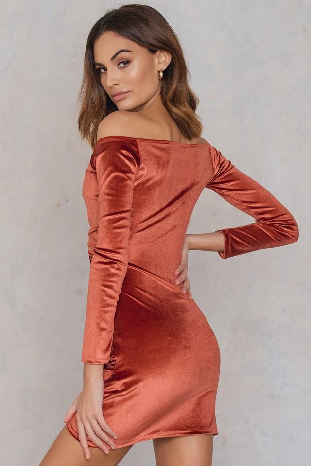 Tazzle Dress Rust