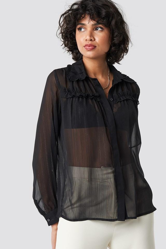 Dalina Shirt Black