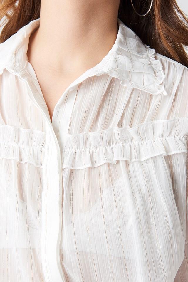 Dalina Shirt White