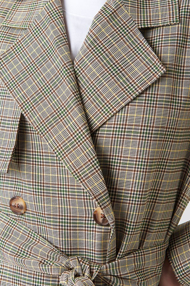 Dassi Coat Verdant Green