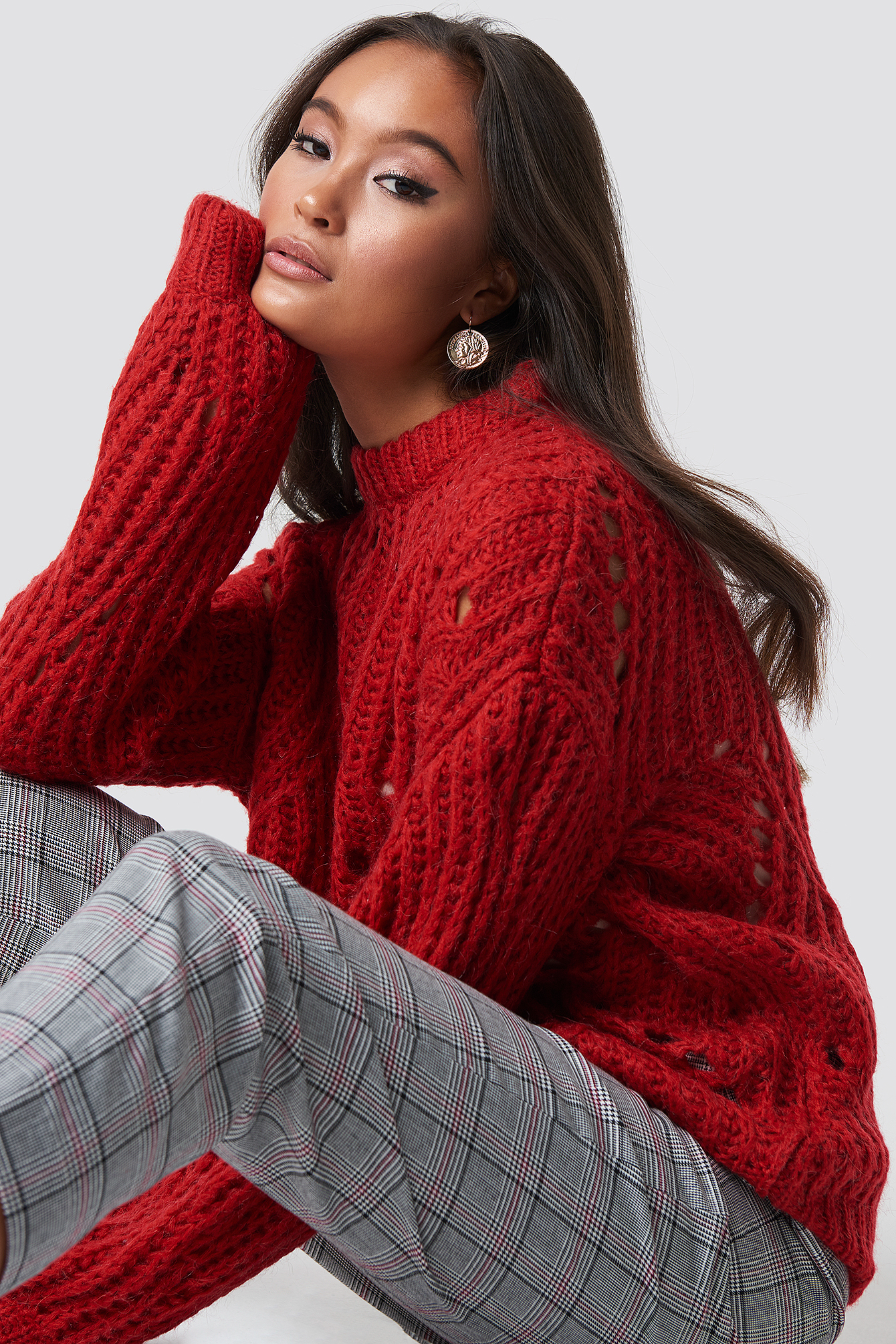 MOVES Fiolina Sweater - Red