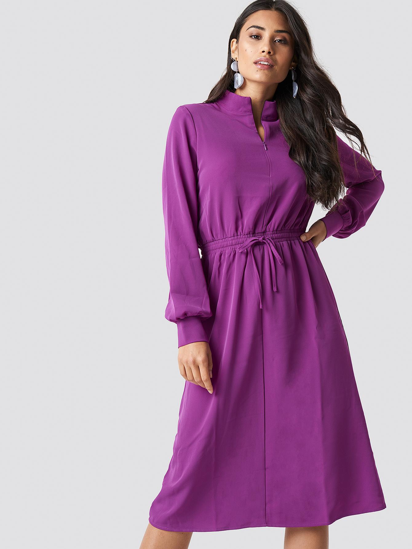 MOVES Flovera Dress - Purple