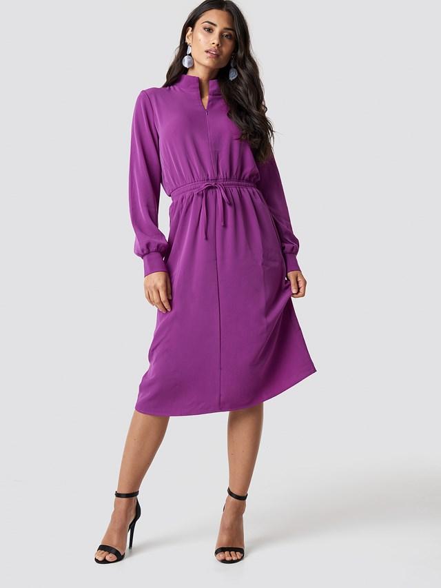 Flovera Dress Grape Juice