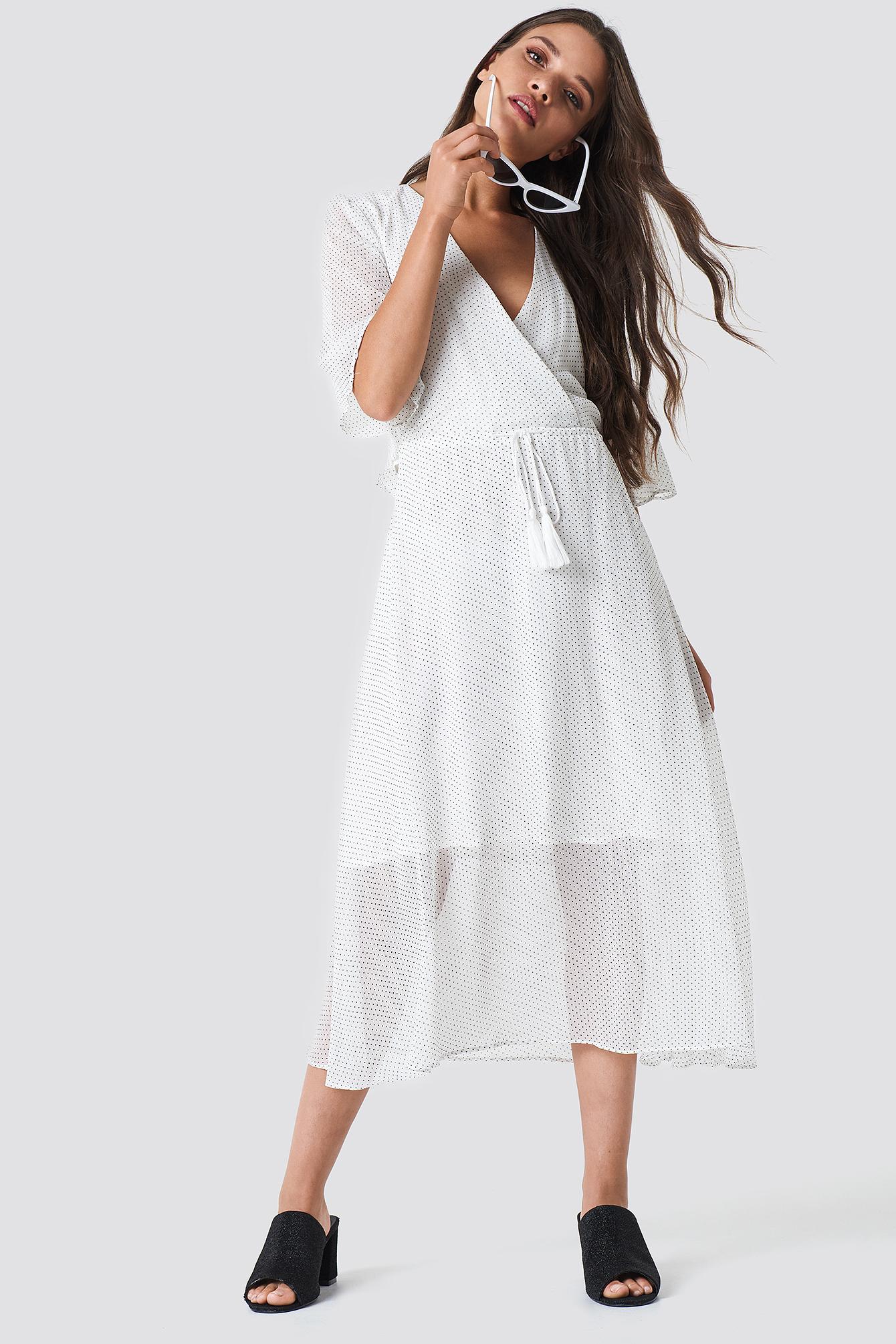MOVES HUNEA DRESS - WHITE