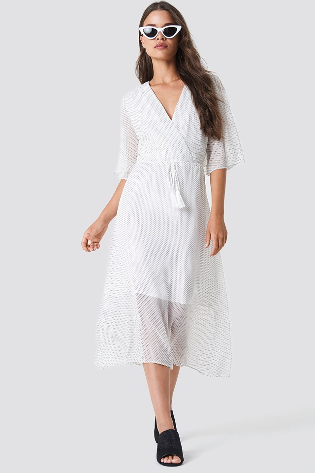 Hunea Dress White