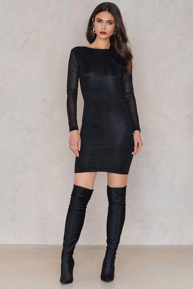Mae Dress Black