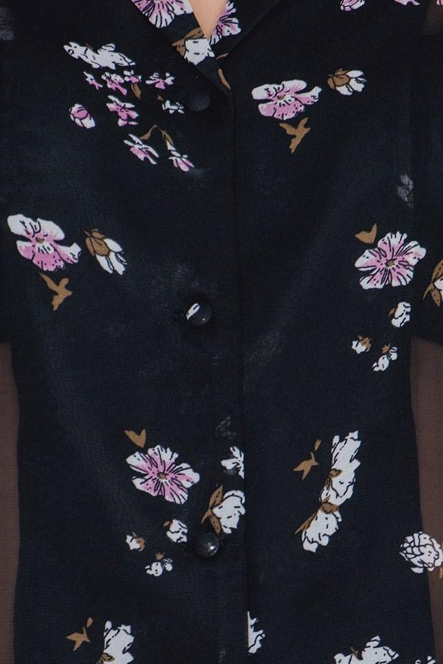 Nastacha Shirt Dark Purple
