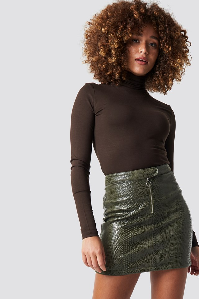 Palina Skirt Burnt Olive