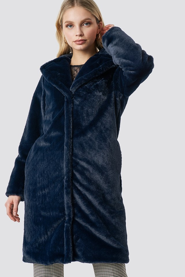 Riella Coat Deep Water
