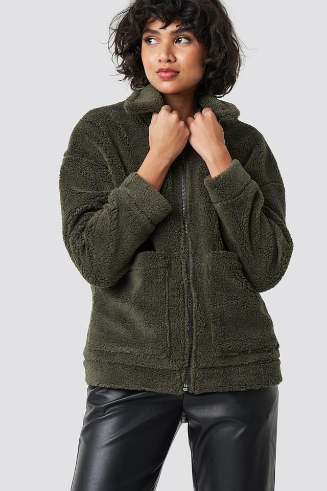 Salla Jacket Burnt Olive