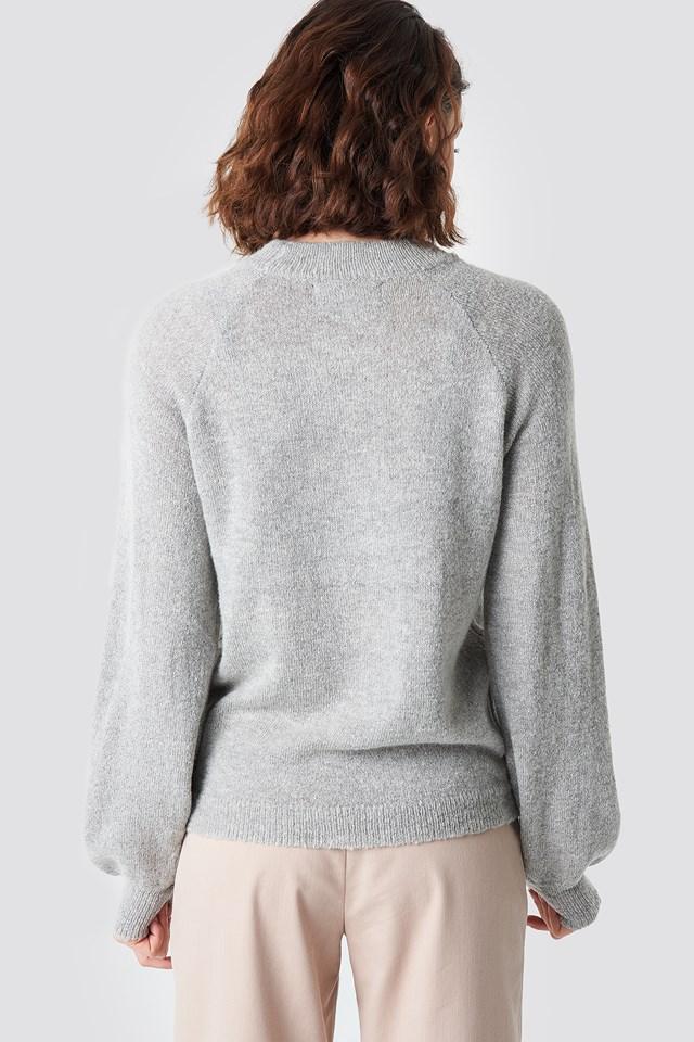 Savea Jumper Light Grey Melange