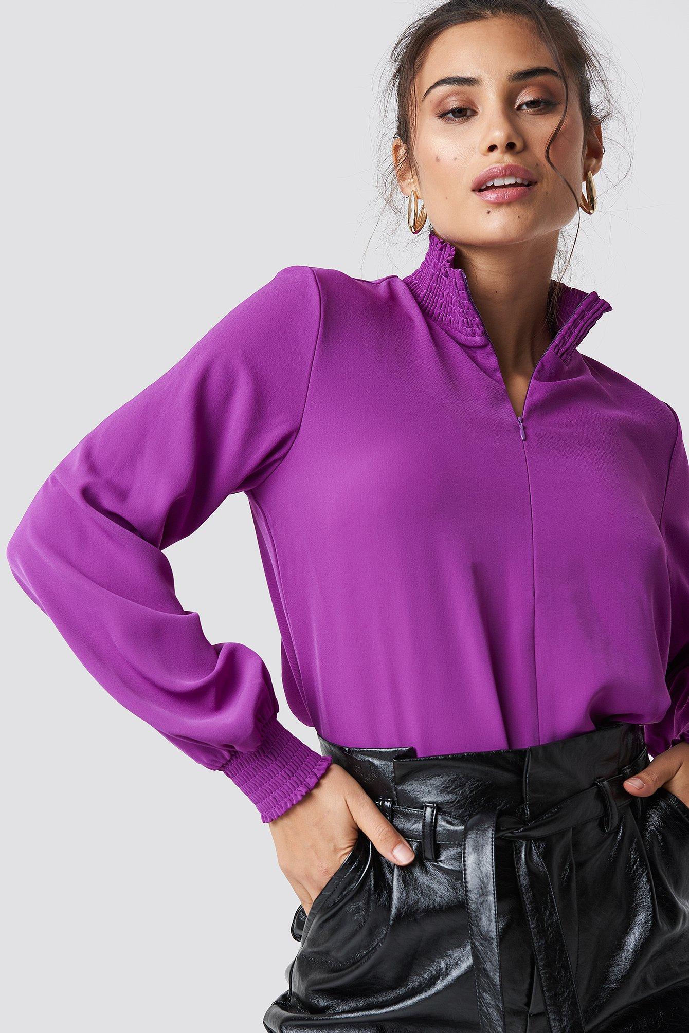 MOVES Shalina Blouse - Purple