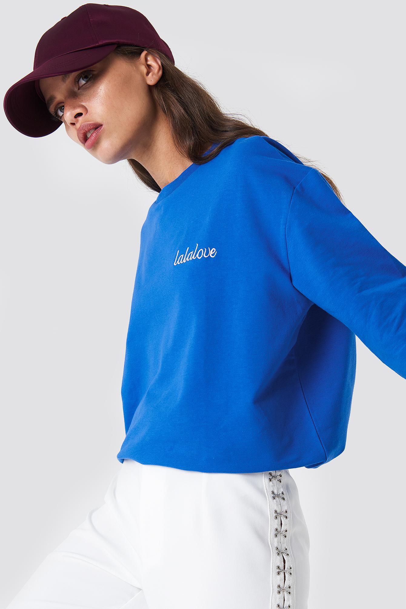 MOVES Tessi-Lala Sweater - Blue