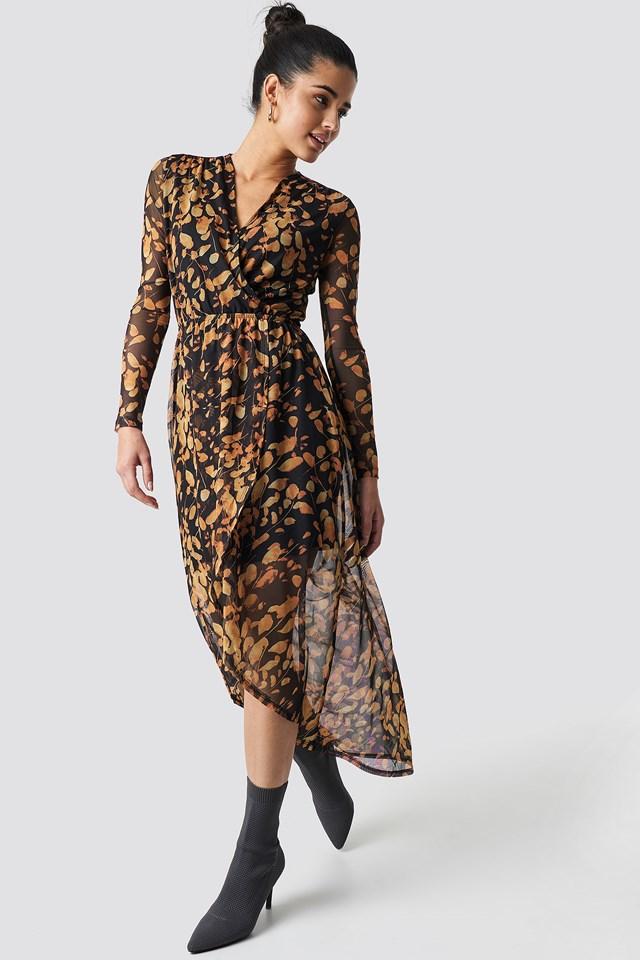 Violana Dress Black