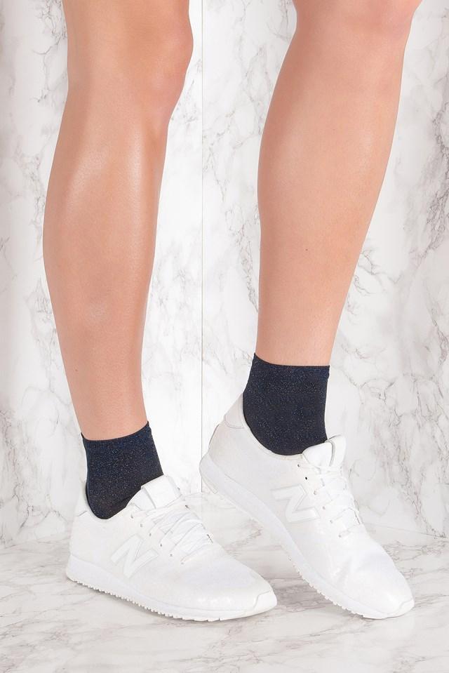 Ankle Pi Sock Blue