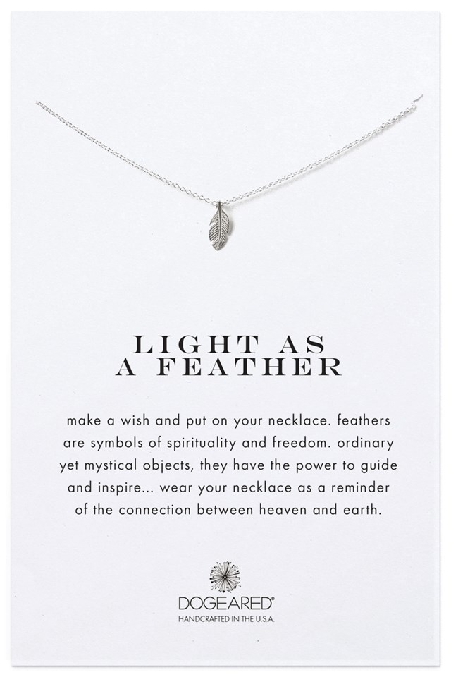Light As A Feather Necklace NA-KD.COM