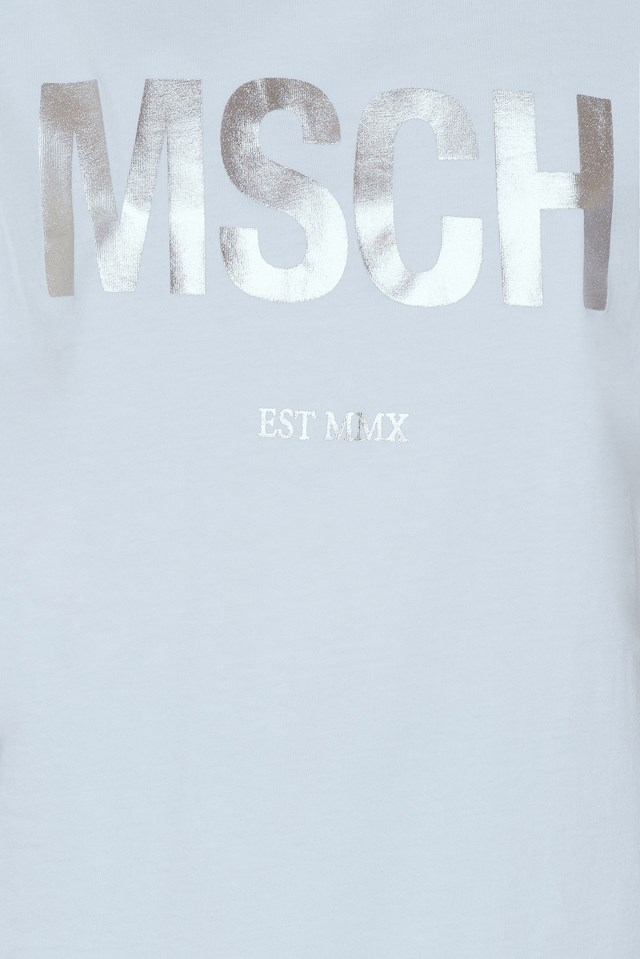 Alva MSCH Tee White/Silver