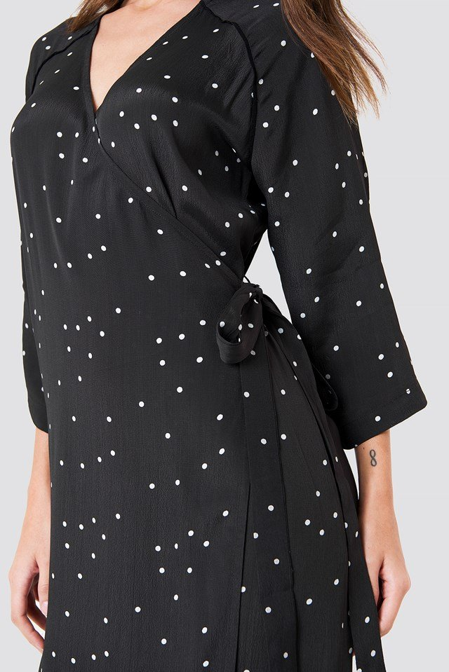 Spirit Dress Random Dots Phantom