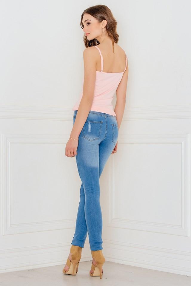 Must Maria strap singlet Soft Pink