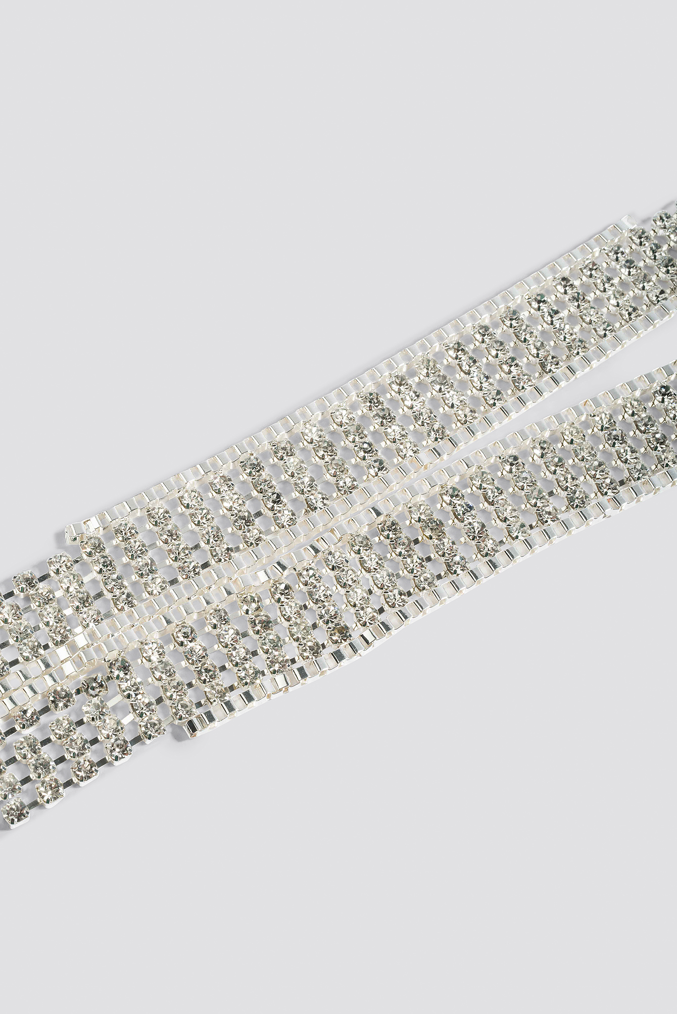 Art Deco Rhinestone Necklace NA-KD.COM