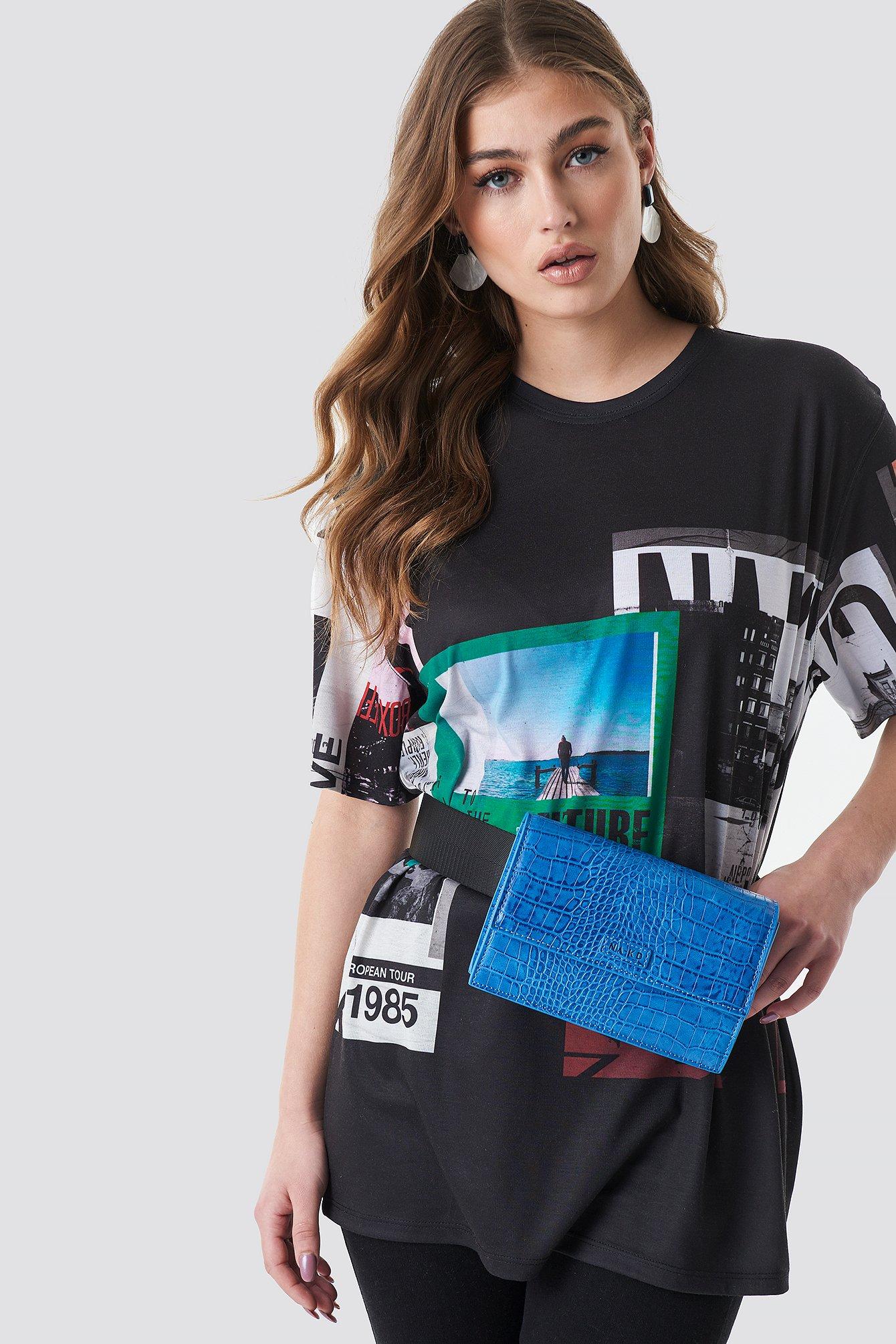 na-kd accessories -  NA-KD Bum Bag - Blue