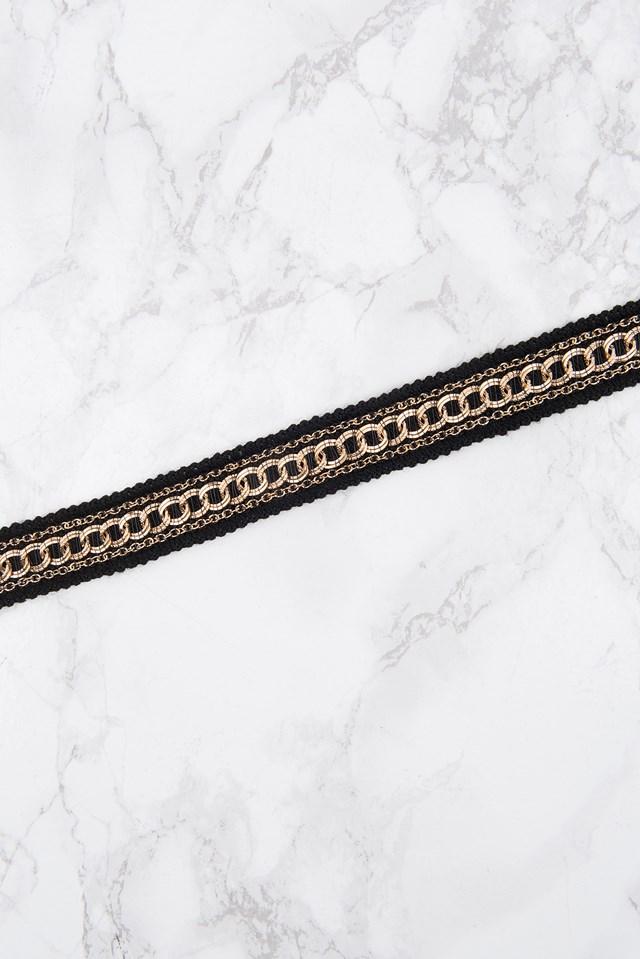 Crochet Choker With Chains NA-KD.COM