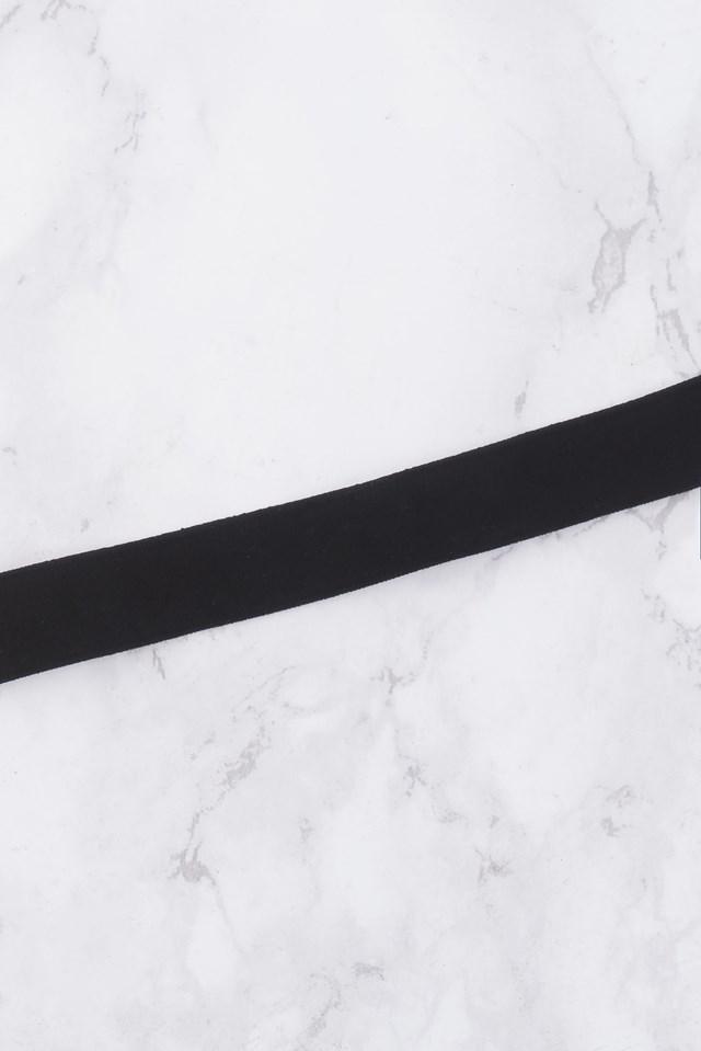 Thin Velvet Choker Black