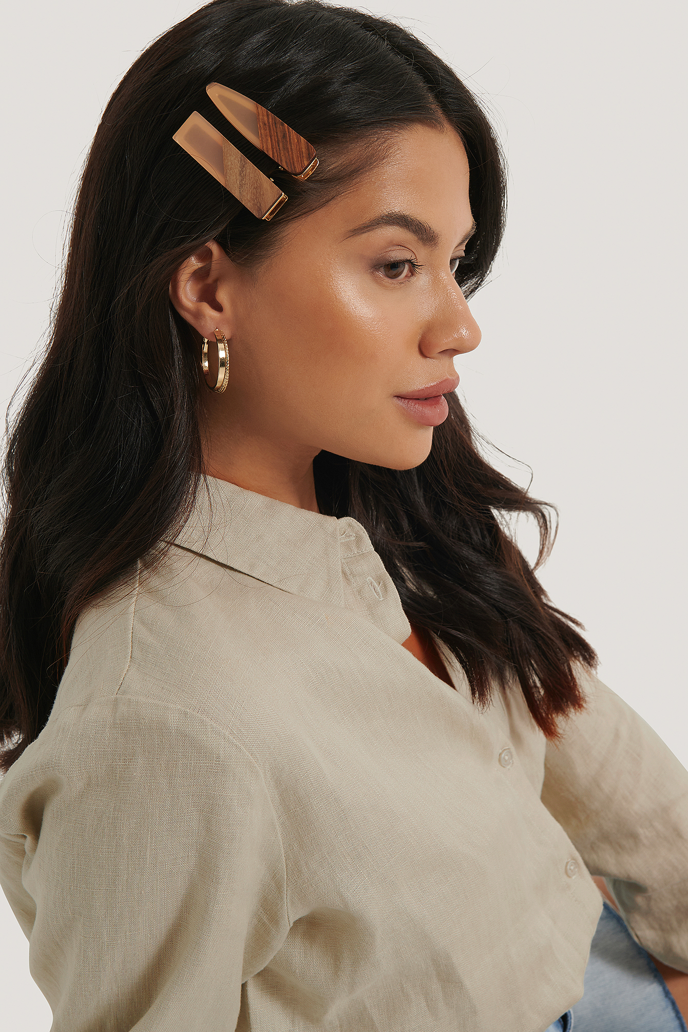 na-kd accessories -  Haarspange - Orange