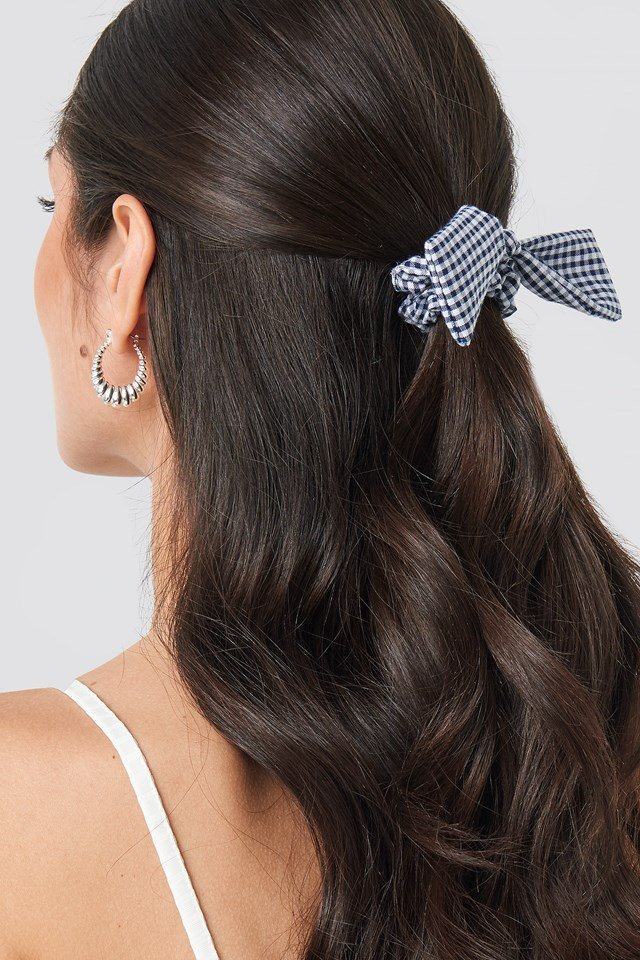 2-Pack Gingham Scrunchies Mixed