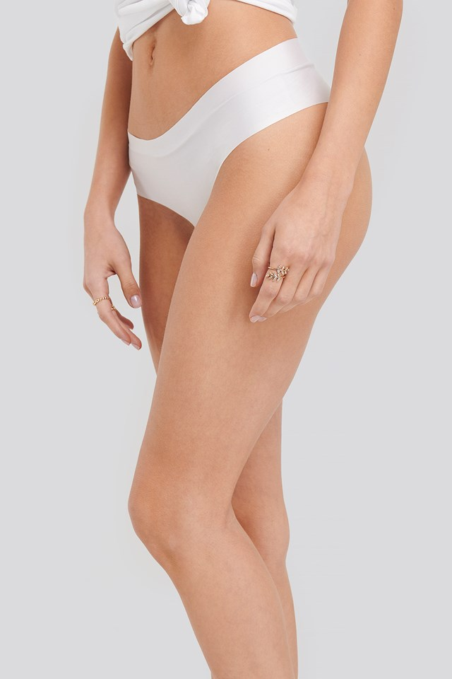 2-pack Seamless Micro Hipster White