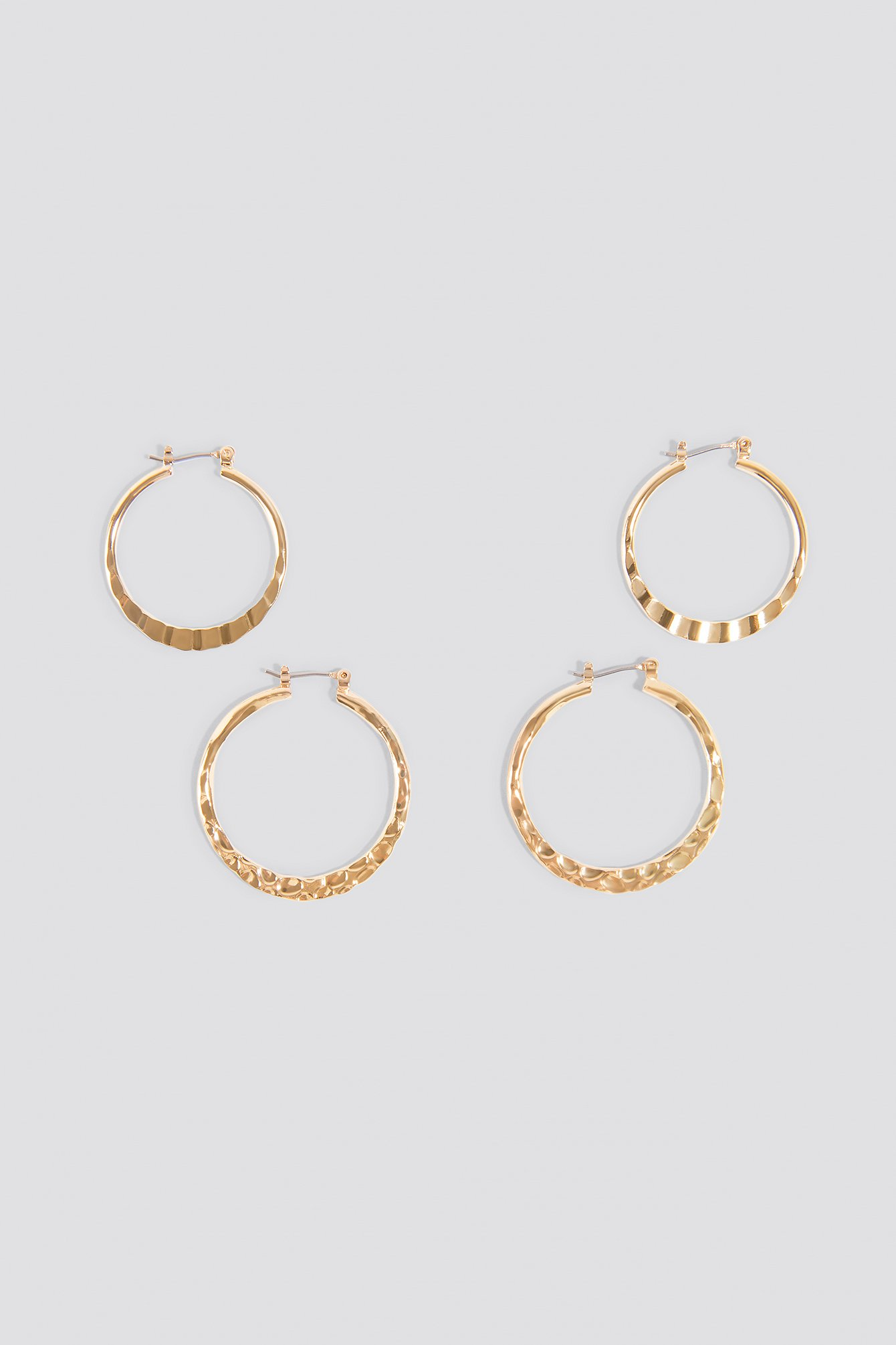 2-Pack Structured Hoops NA-KD.COM