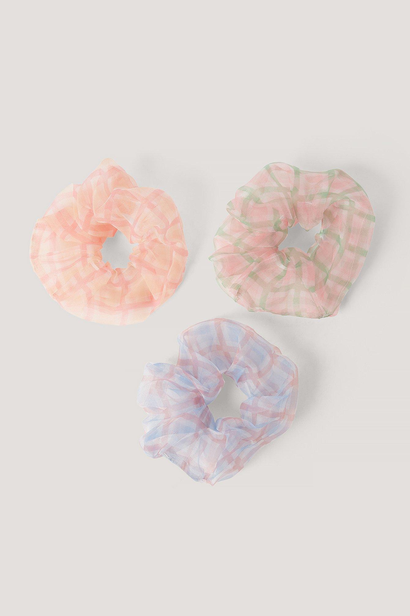 na-kd accessories -  3Er-Pack Haargummis - Multicolor