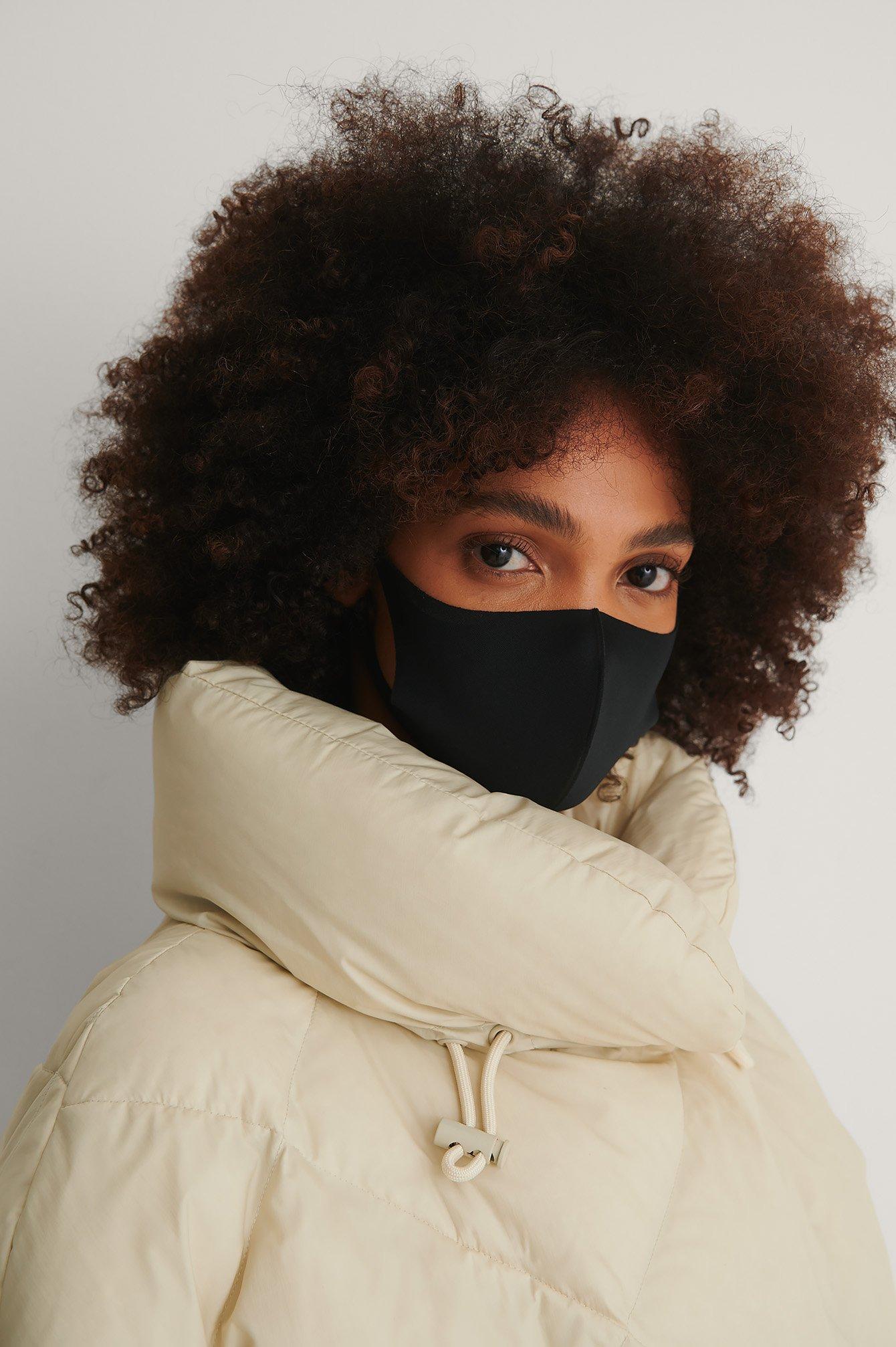 NA-KD Accessories 3-Pack Basic Scuba Masks - Black