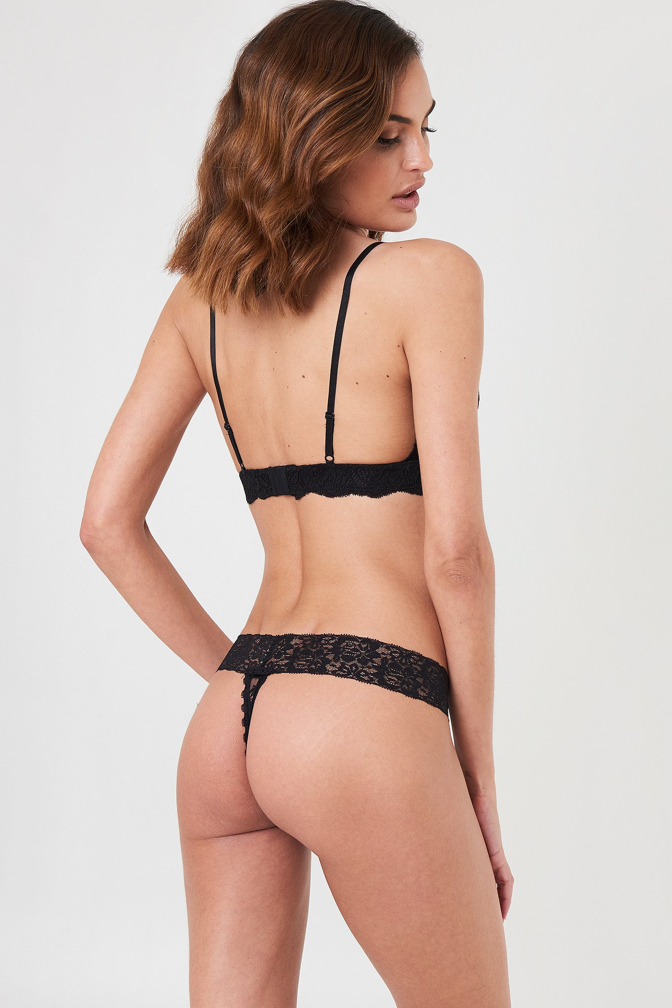 3-Pack Lace Thong NA-KD.COM