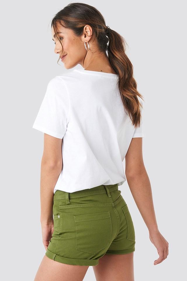 5 Pocket Shorts Khaki