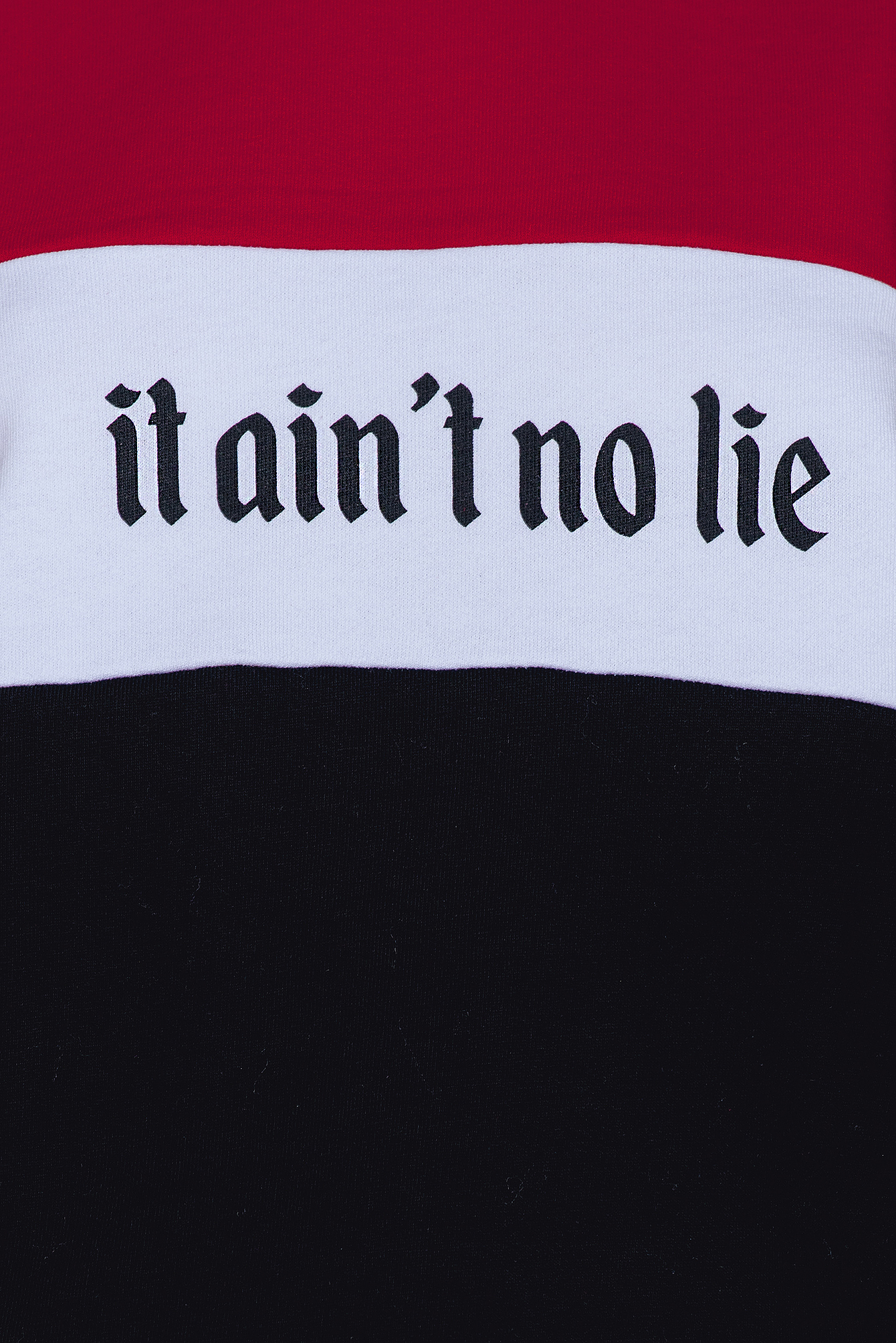 Black/Red It Ain't No Lie Sweater