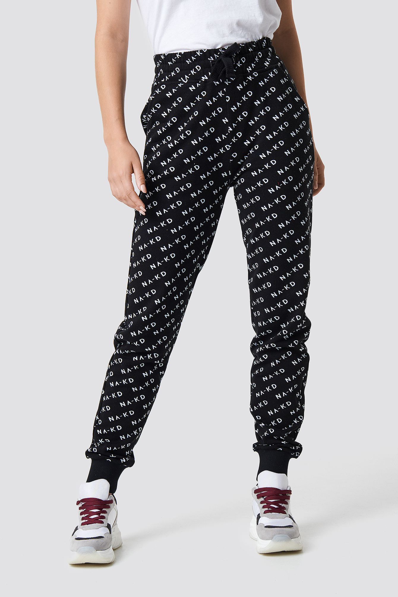 All Over Branded Sweatpants NA-KD.COM