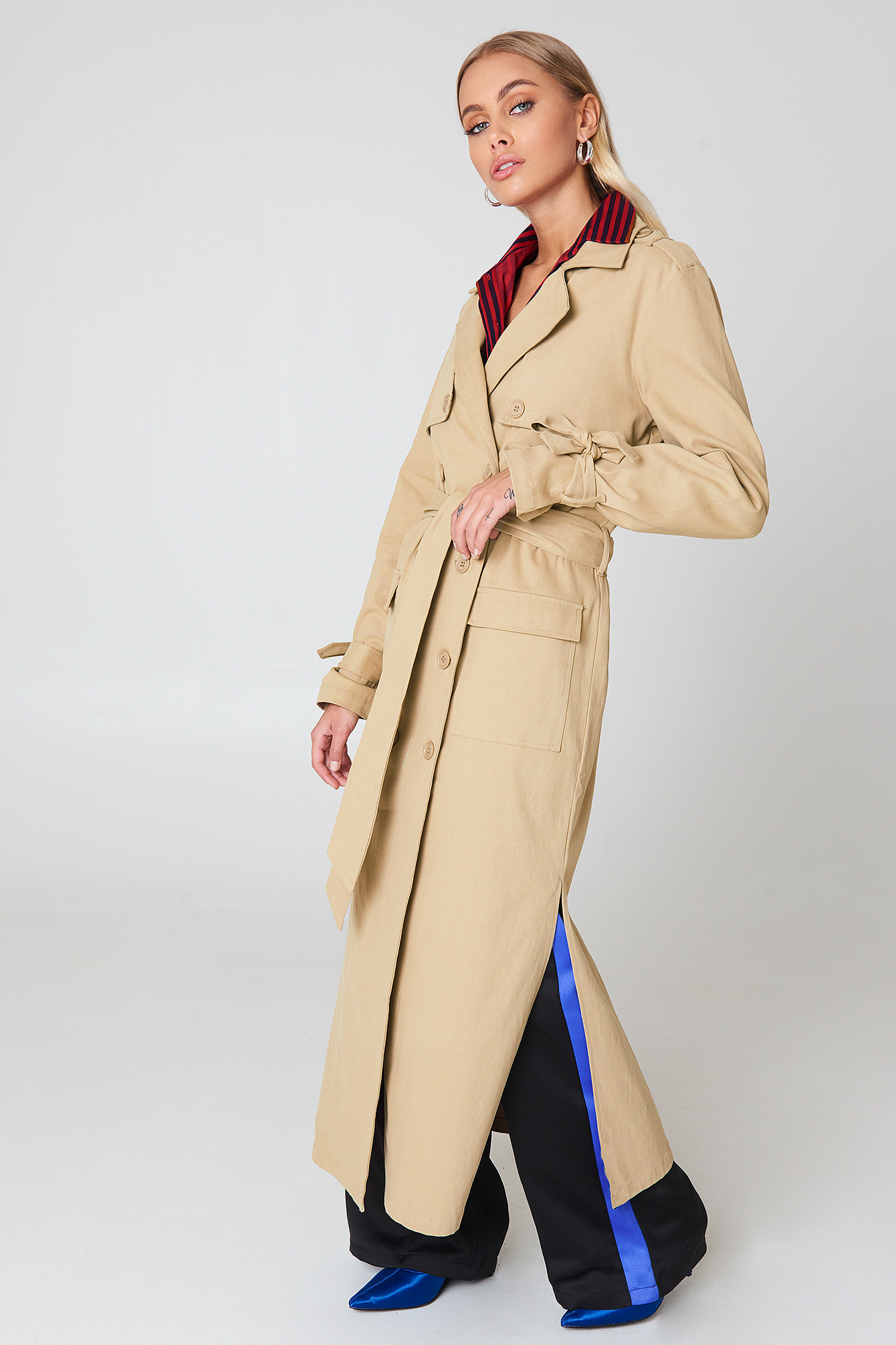 Ankle Trench Coat