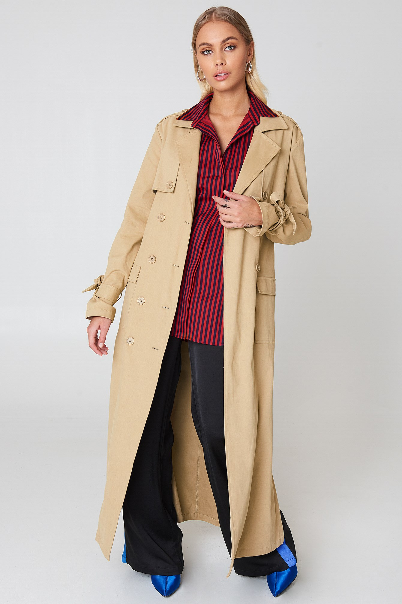 Ankle Trench Coat NA-KD.COM