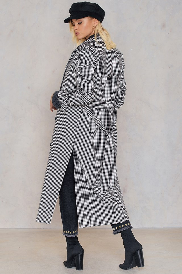 Checked Trenchcoat Checked